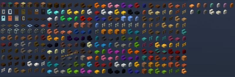 The Nark Mod - разнообразные блоки для декора [1.16.5] [1.15.2]