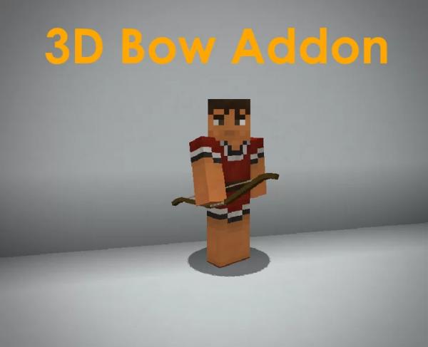 3D Bow Addon - Новая реалистичная модель и анимация лука [1.17] [1.16.5] [1.15.2] [1.14.4] [32x]
