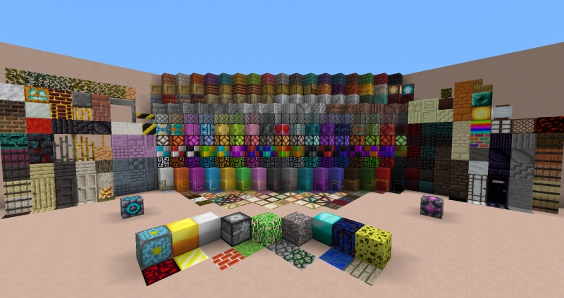Blockus - много новых декоративных блоков [1.16.5] [1.15.2] [1.14.4]