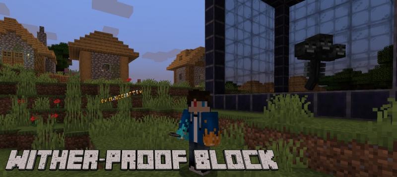 Wither-Proof Block - блоки защиты от Иссушителя [1.17.1] [1.16.5]
