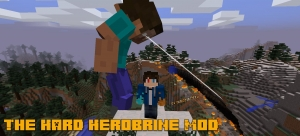 The Hard Herobrine Mod - херобрин босс [1.12.2]
