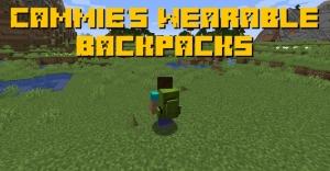 Cammie's Wearable Backpacks - сбалансированные рюкзаки [1.16.5]