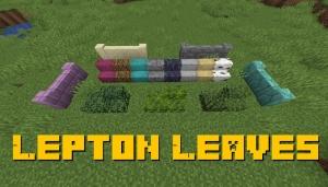 Lepton Leaves - блоки из листьев [1.16.5]