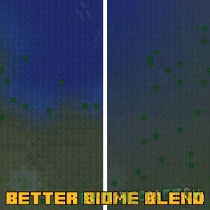 Better Biome Blend - плавные переходы между биомами [1.17.1] [1.16.5] [1.12.2]