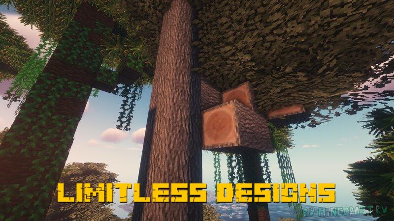 LIMITLESS DESIGNS - приятные текстуры [1.16.5] [1.15.2] [32x]