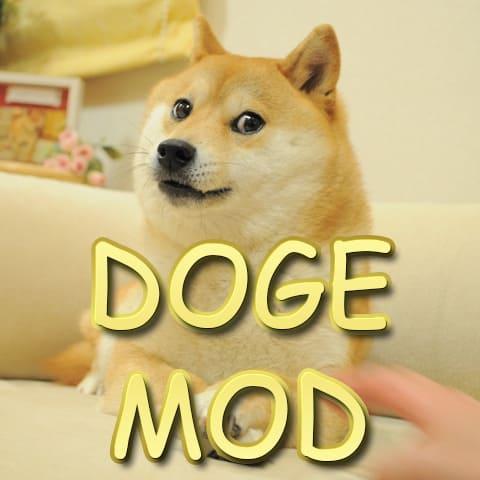 Doge Mod - доги мод, броня, инструмент, майнинг [1.16.5] [1.12.2] [1.7.10]