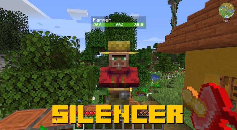 Silencer - предмет для заглушения мобов [1.16.5]