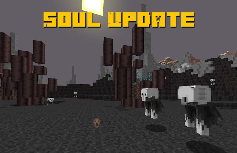 Soul Update - частица дарк соулс в майнкрафте [1.16.5]