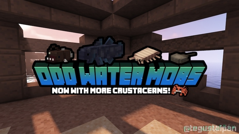 Odd Water Mobs - новые мобы под водой [1.16.5] [1.15.2]