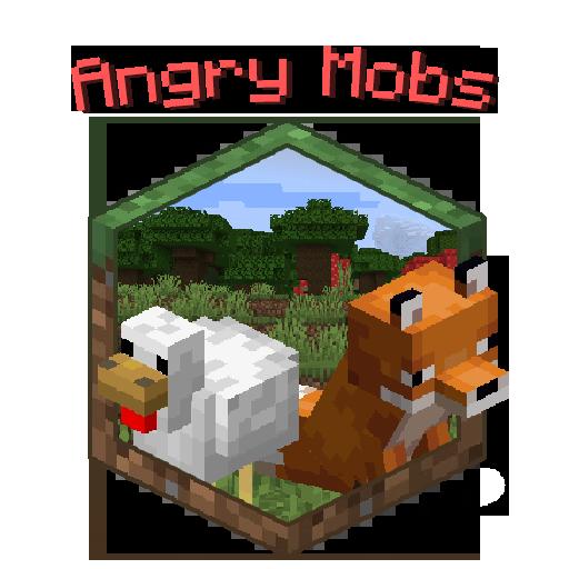 Angry Mobs - мирные мобы нападают на игрока [1.16.5]