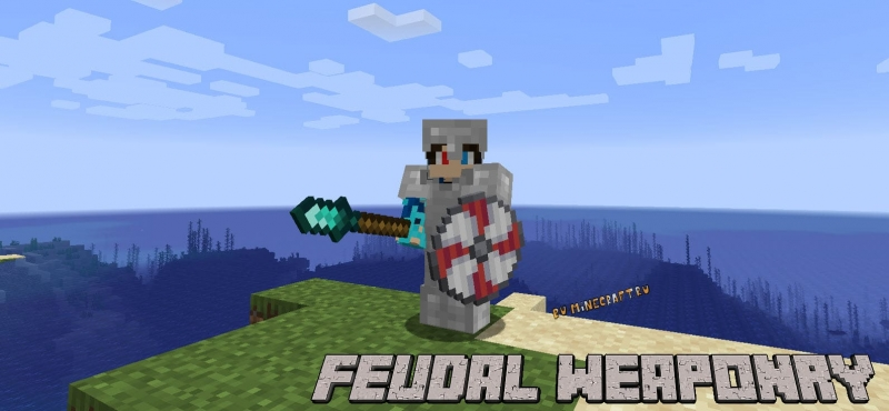 Feudal Weaponry - оружие средних веков [1.16.5]