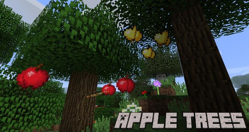 Apple Trees Revived - яблоня, яблочное дерево [1.17.1] [1.16.5] [1.15.2] [1.14.4] [1.12.2] [1.11.2] [1.10.2]