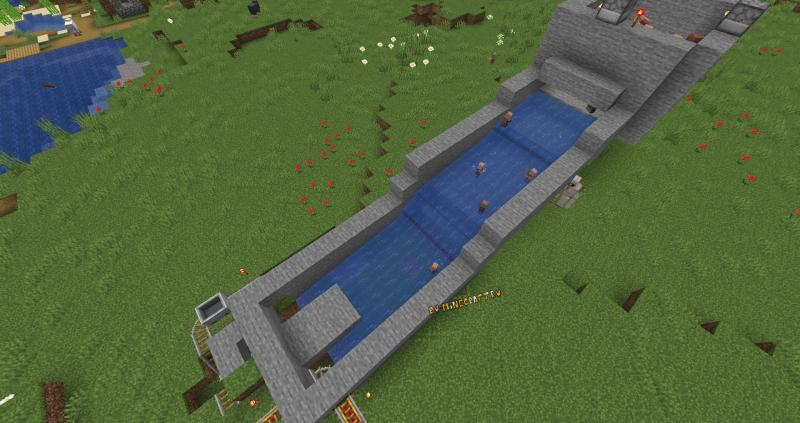 Простая Ферма жителей в Майнкрафт 1.14+ (Размножение)