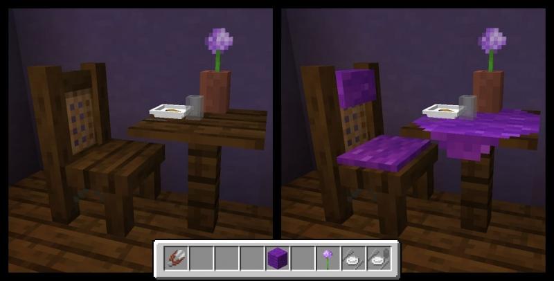 TableChair - красивые стулья, столы, декор [1.16.5] [1.15.2]