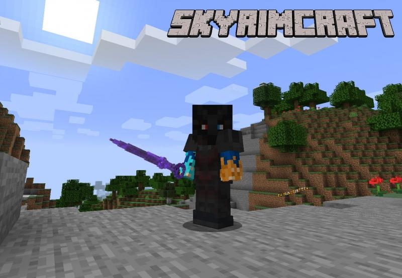 SkyrimCraft Mod - мод на оружие, броню, мобов из Скайрим [1.16.5] [1.14.4] [1.12.2]