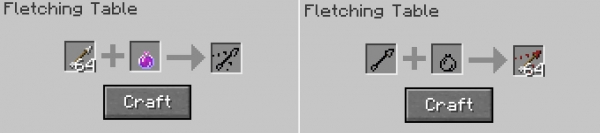 The Fletching Table Mod - Функционал для стола лучника [1.16.5] [1.15.2]