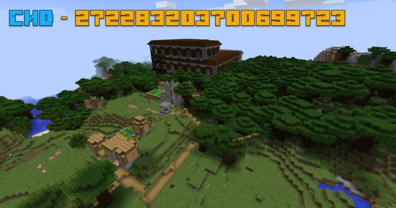 Сид - лесной особняк рядом с деревней и спавном [1.12.2]