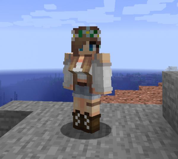 Wildfire's Female Gender Mod - пол игрока, женская грудь [1.16.5]