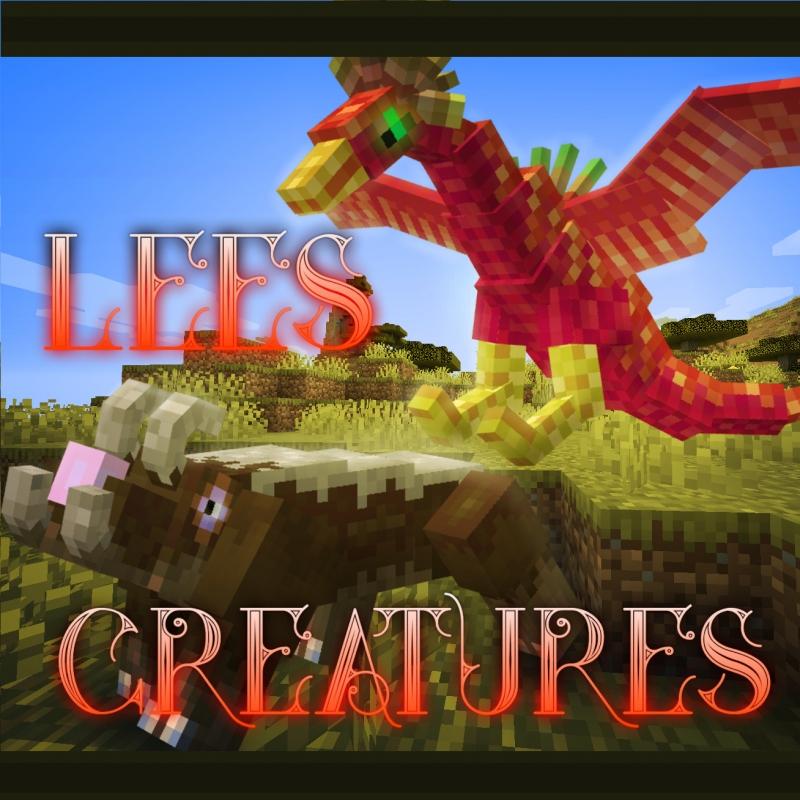 Lee's Creatures - мистические мобы [1.16.5] [1.15.2]