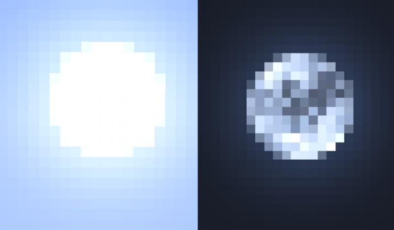Better Sun and Moon - более реалистичное солнце и луна [1.16.5] [1.15.2] [16x]