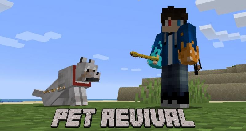 Pet Revival - воскрешение питомцев [1.16.5]