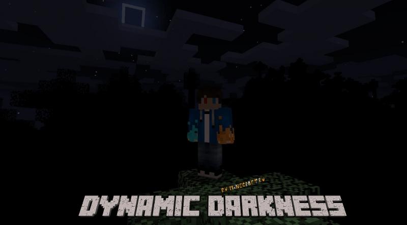 Dynamic Darkness - динамическая темнота, полная темнота [1.12.2]