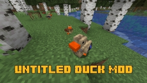 Untitled Duck Mod - уточки для майнкрафта [1.17.1] [1.16.5]