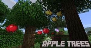 Apple Trees Revived - яблоня, яблочное дерево [1.16.5] [1.15.2] [1.14.4] [1.12.2] [1.11.2] [1.10.2]
