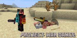 Project: War Dance - новая система боя [1.16.5]