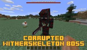Corrupted Witherskeleton Boss - новый босс в энд мире [1.16.5]