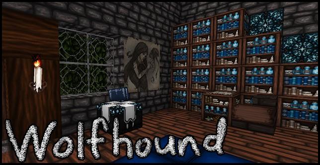 Wolfhound - Демоны? [1.17] [1.16.5] [1.15.2] [1.12.2] [1.8.9] [64x]