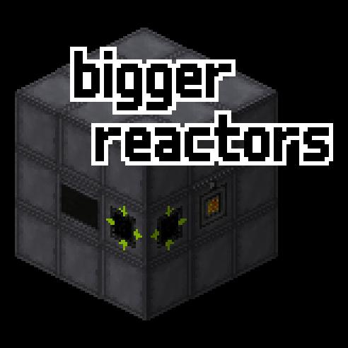 Bigger Reactors (Big Reactors) - многоблочные реакторы [1.17.1] [1.16.5] [1.15.2] [1.7.10] [1.6.4]