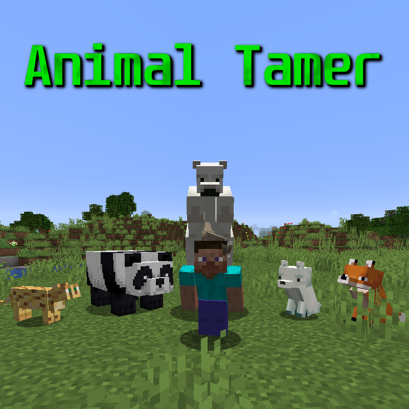 Animal Tamer - приручение других мобов [1.17.1] [1.16.5] [1.12.2]