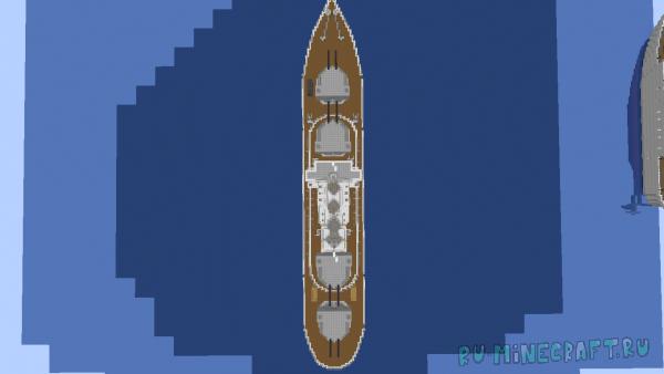 Ship's - Карта с несколькими кораблями [1.16+]
