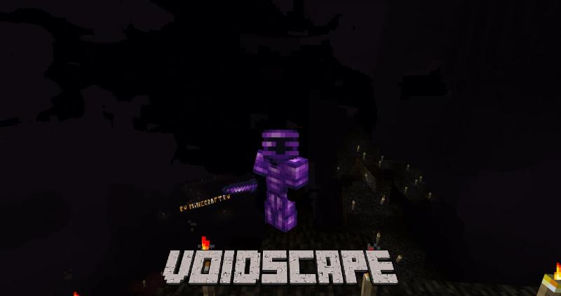 Voidscape - темное измерение пустоты [1.16.5] [1.15.2]