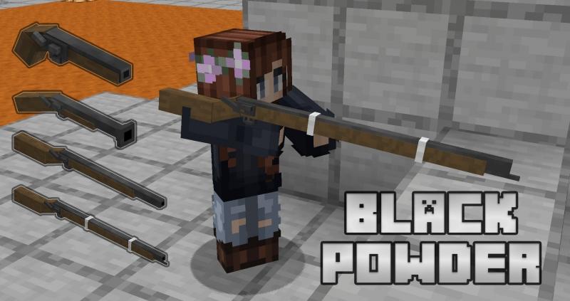 Black Powder - мушкеты, винтовки [1.17.1] [1.16.5]