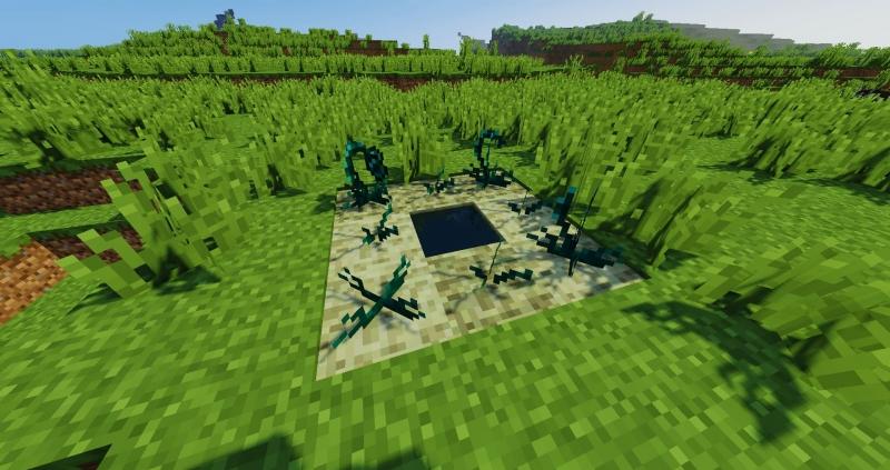 Ender Crop - выращивание жемчуга края [1.16.5] [1.12.2] [1.8.9] [1.7.10]
