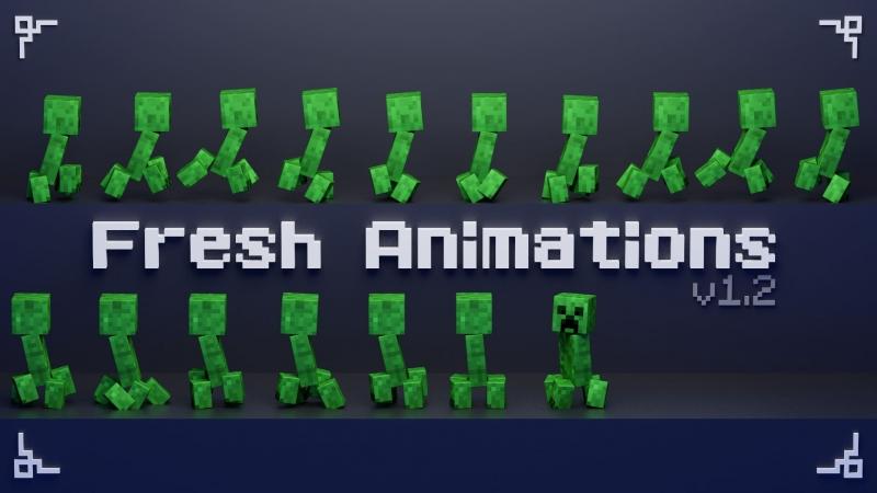 Fresh Animations - текстурпак с реалистичными анимациями мобов [1.17] [1.16.5]