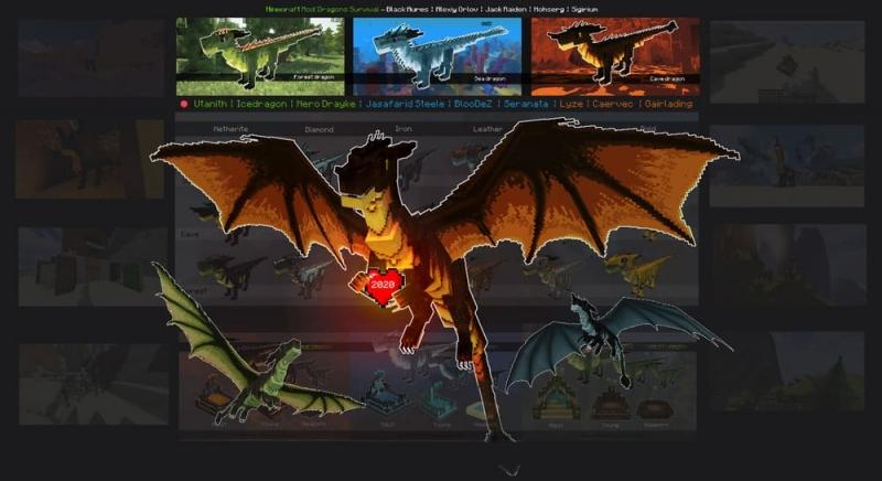 Dragons Survival - возможность стать драконом [1.16.5] [1.15.2]
