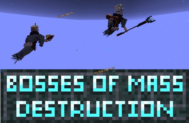 Bosses of Mass Destruction - сильные боссы [1.17] [1.16.5]