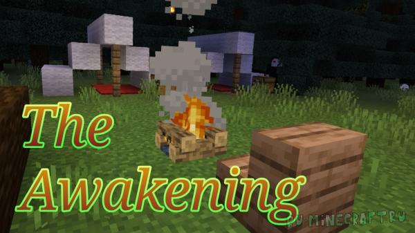 The Awakening - хоррор-карта для Minecraft Bedrock Edition [1.16]