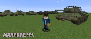 Warfare 44 Content Pack - пак реалистичных танков второй мировой войны [1.12.2]