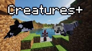 Creatures+ - новые, разнообразные текстуры мобов [1.17] [1.16.5] [16x]