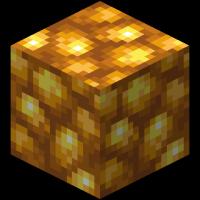 Блок необработанного золота