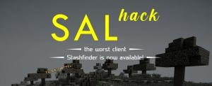 Salhack - неплохой чит-клиент с хорошим функционалом для анархии [1.12.2]
