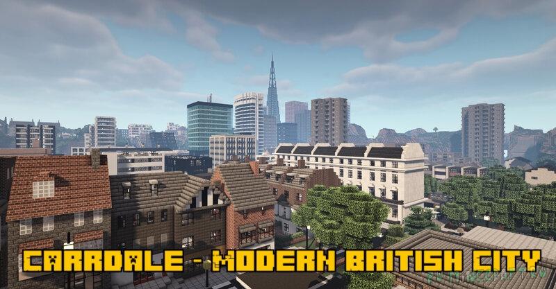 Carrdale - Modern British City - современный британский город [1.16.5]