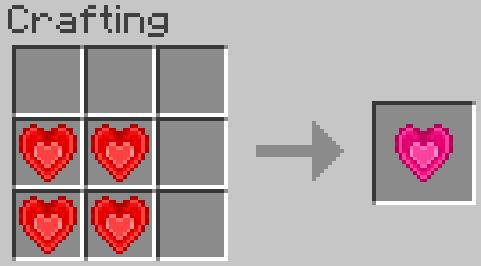 Heart Crystal Mod - Кристальное сердце из Террарии [1.16.5] [1.15.2] [1.7.10] [1.6.4]