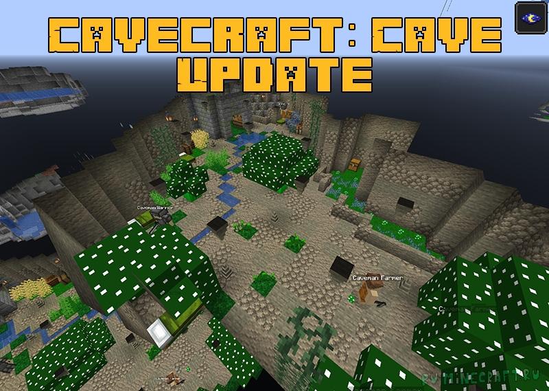 Cavecraft: Cave Update - больше разнообразия в подземельях [1.16.5]