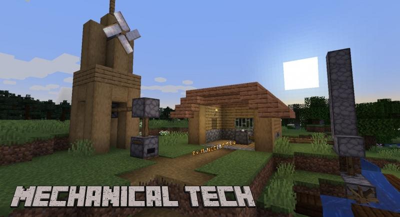 Mechanical Tech - простая механическая энергия [1.16.5]
