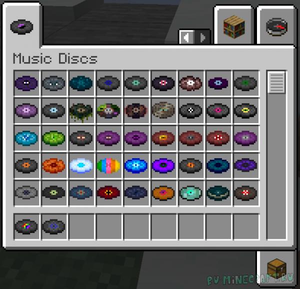 More Music Discs+ - новые пластинки с музыкой [1.16.5]